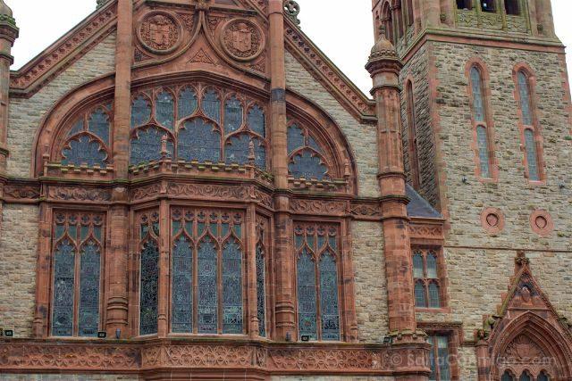 Irlanda Del Norte Derry Londonderry Guildhall Fachada