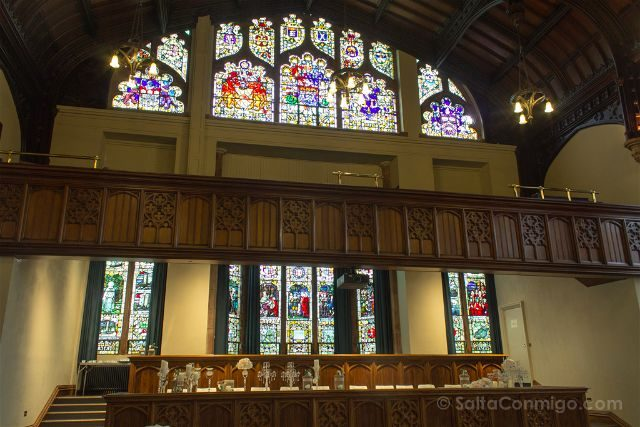 Irlanda Del Norte Derry Londonderry Guildhall Vidrieras