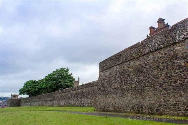 Irlanda Del Norte Derry Londonderry Muralla