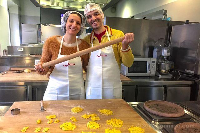 Italia Emilia Romagna Forlimpopoli Casa Artusi Curso Pasta Fresca Nosotros