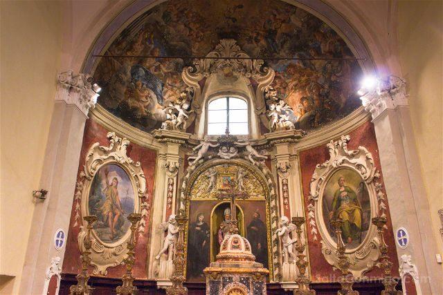 Italia Emilia Romagna Forlimpopoli Casa Artusi Iglesia Siervos