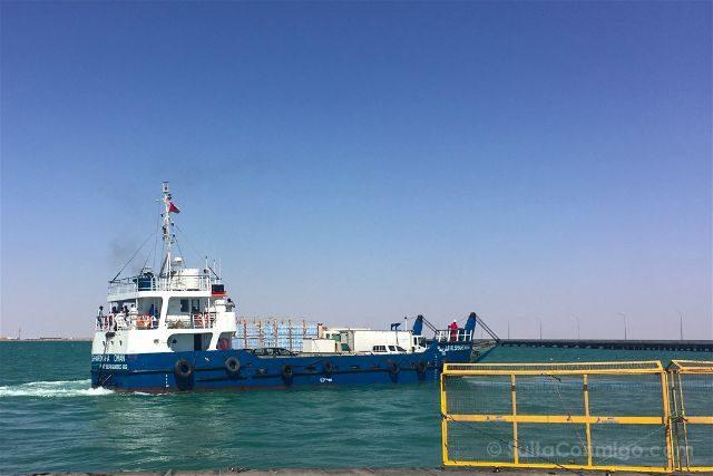 Oman Masira Barco Puerto Shannah