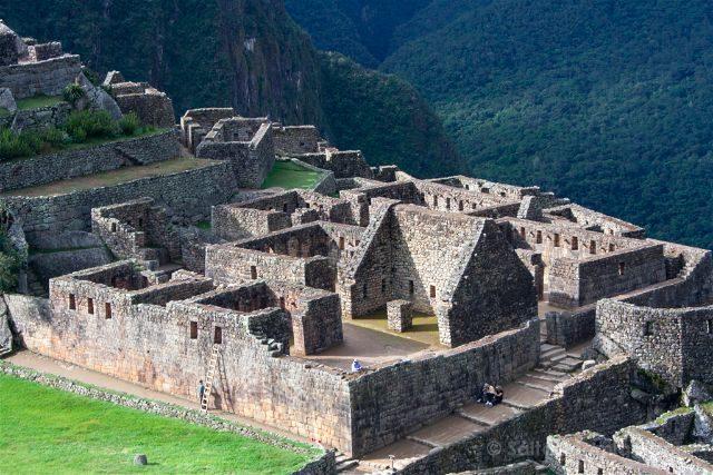 Peru Machu Picchu Casas