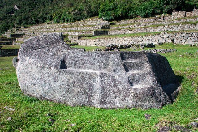 Peru Machu Picchu Piedra Trilogia Inca
