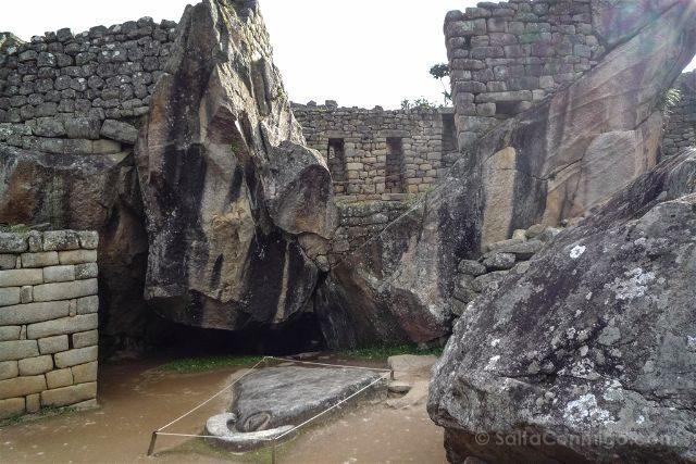 Peru Machu Picchu Templo Condor