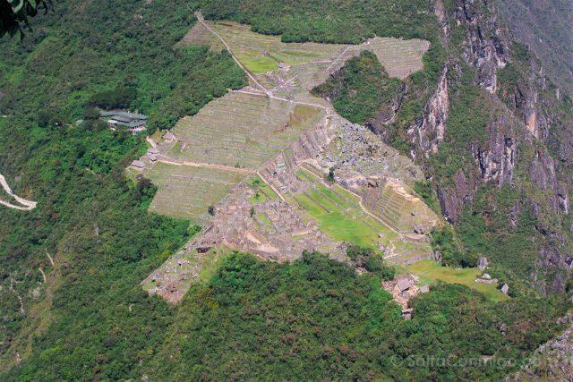 Peru Machu Picchu Vista Huayna Picchu Condor