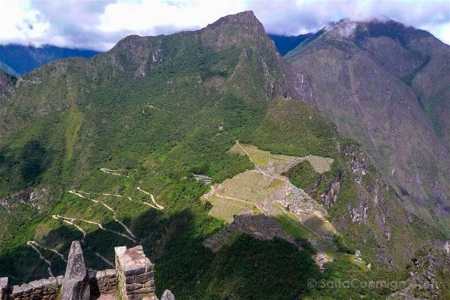 Peru Machu Picchu Vista Huayna Picchu General
