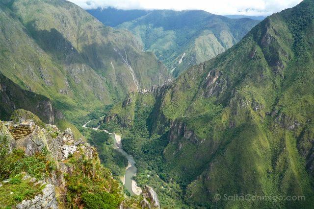 Peru Machu Picchu Vista Huayna Picchu Rios