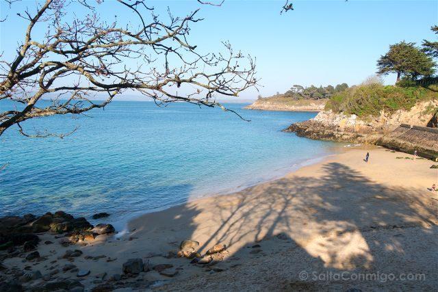 Francia Bretagne Douarnenez Playa
