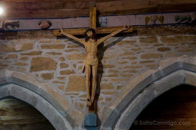 Francia Bretagne Pont-Aven Capilla Tremalo Cristo
