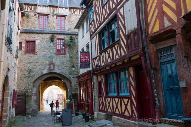 Francia Bretagne Rennes Edificios