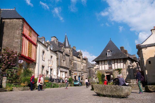 Francia Bretagne Rochefort-en-terre