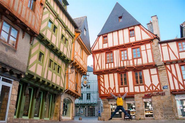 Francia Bretagne Vannes Salto