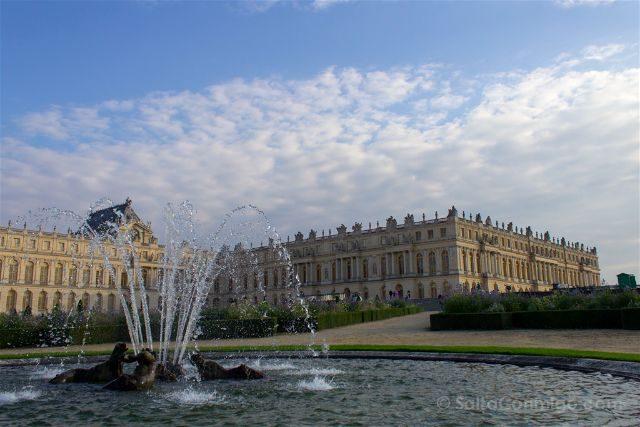 Francia Paris Jardines Fuentes Versalles Fachada