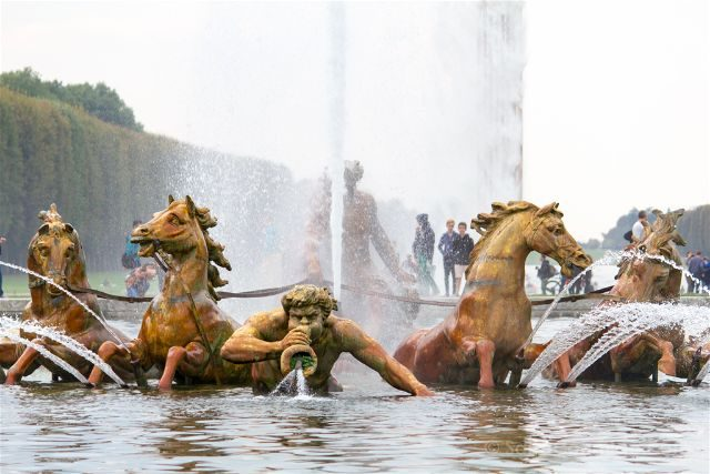 Francia Paris Jardines Versalles Fuente Apolo