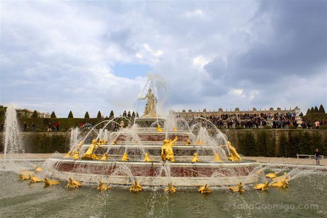 Francia Paris Jardines Versalles Fuente Latona