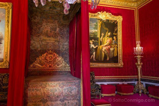 Francia Paris Palacio Versalles Aposento Luis XV
