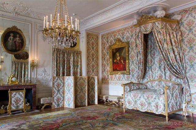 Francia Paris Palacio Versalles Aposento Mesdames