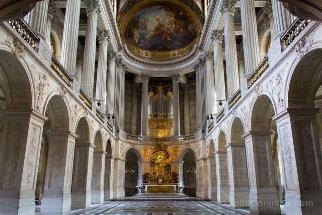 Francia Paris Palacio Versalles Capilla