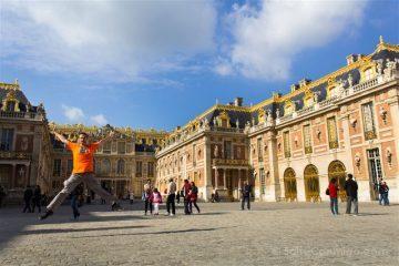 Francia Paris Palacio Versalles Fachada Salto