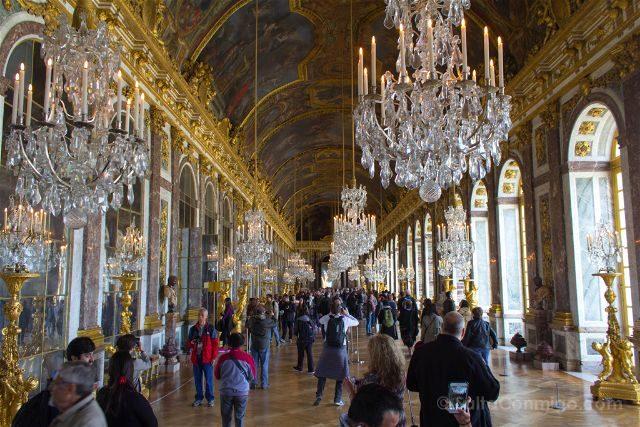 Francia Paris Palacio Versalles Galeria Espejos