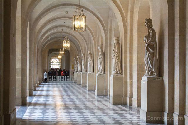 Francia Paris Palacio Versalles Pasillo Visita Guiada