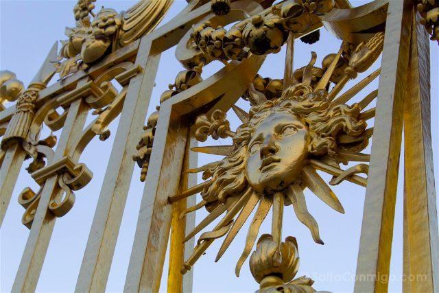 Francia Paris Palacio Versalles Reja Rey Sol