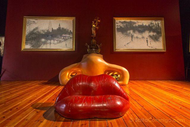 Girona Figueres Teatro-Museo Dali Apartamento Mae West
