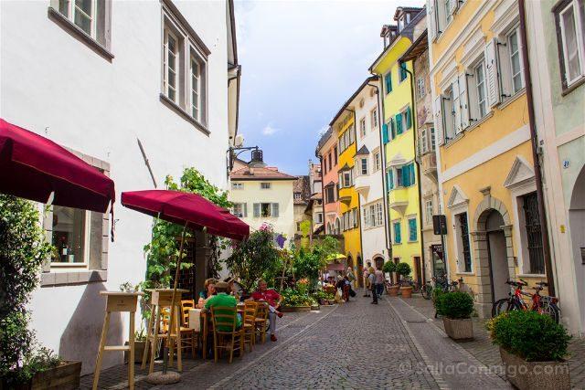 Italia Sudtirol Bolzano Bozen Calles