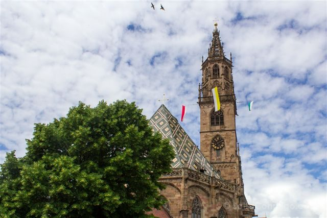 Italia Sudtirol Bolzano Bozen Catedral Campanario
