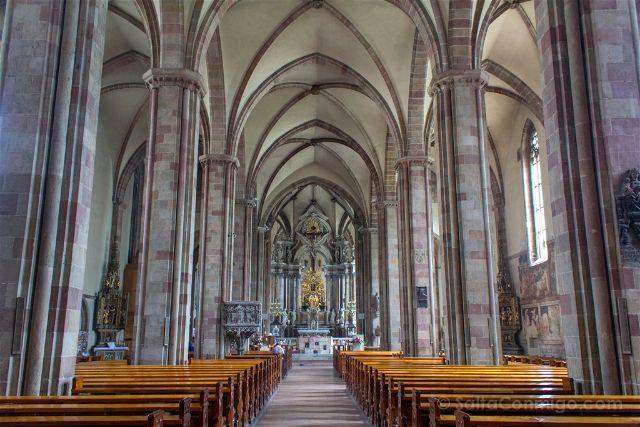 Italia Sudtirol Bolzano Bozen Catedral Interior