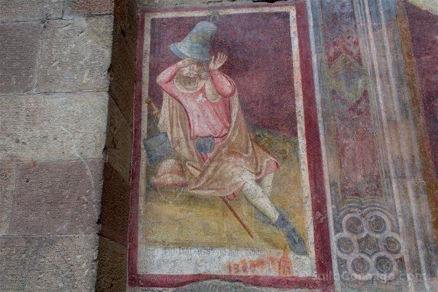 Italia Sudtirol Bolzano Bozen Catedral Peregrino Campana