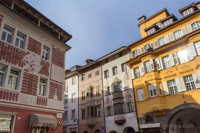 Italia Sudtirol Bolzano Bozen Edificios Centro