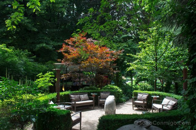 Italia Sudtirol Bolzano Bozen Parkhotel Laurin Jardin