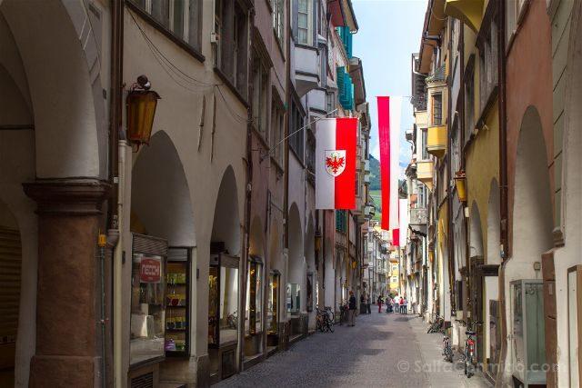 Italia Sudtirol Bolzano Bozen Porticos Centro