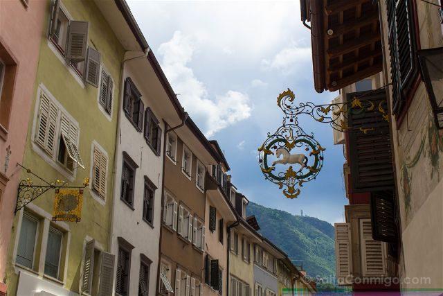Italia Sudtirol Bolzano Bozen Via Bottai