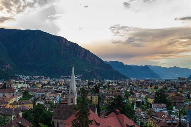 Italia Sudtirol Bolzano Bozen Vista Ruta Guncina