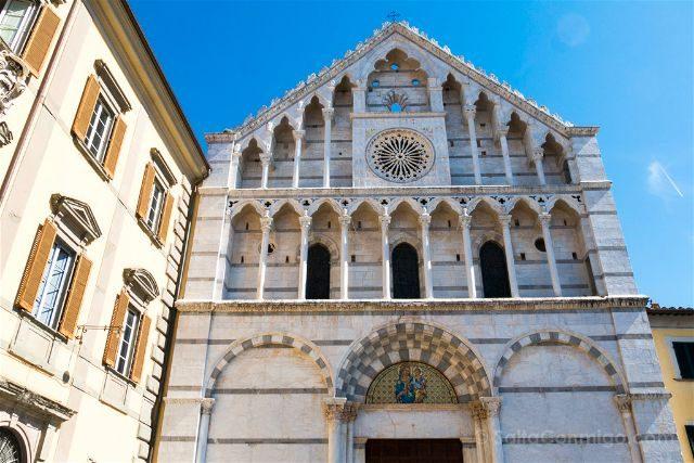 Italia Toscana Pisa Iglesia Santa Catalina Alesandria Fachada