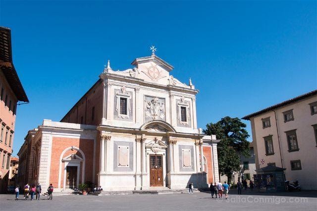 Italia Toscana Pisa Piazza Cavalieri Santo Stefano