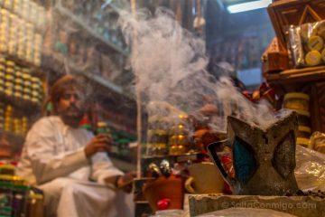 Oman Mutrah Muscat Zoco Incienso