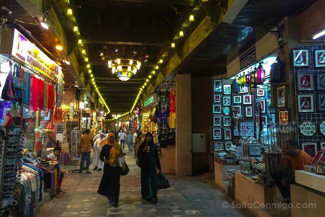 Oman Mutrah Zoco Interior Noche