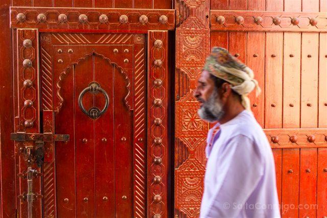 Oman Nizwa Zoco Puerta
