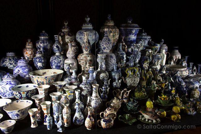 Paises Bajos Holanda La Haya Gemeentemuseum Ceramica Delft