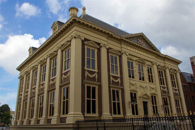 Paises Bajos Holanda La Haya Mauritshuis Fachada
