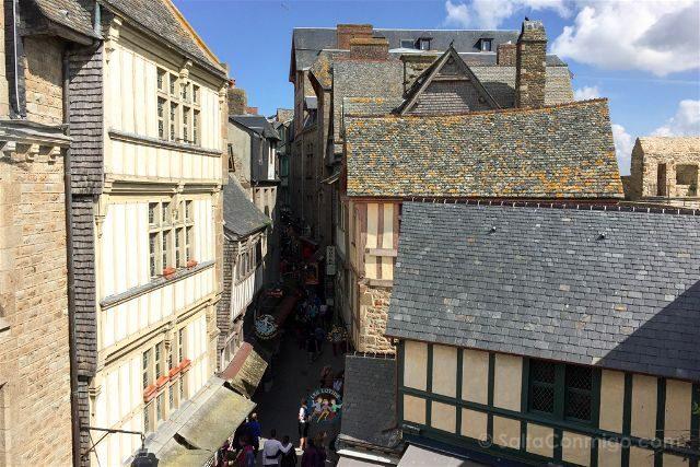 Francia Normandia Mont Saint-Michel Calle