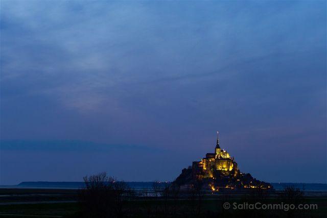 Francia Normandia Mont Saint-Michel Hora Azul