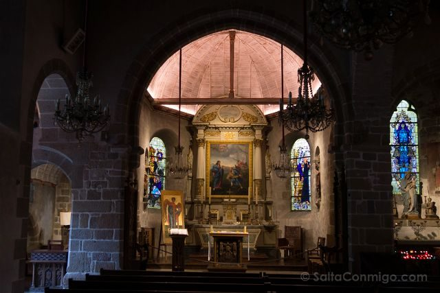 Francia Normandia Mont Saint-Michel Iglesia San Pedro