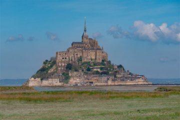 Francia Normandia Mont Saint-Michel Pastos