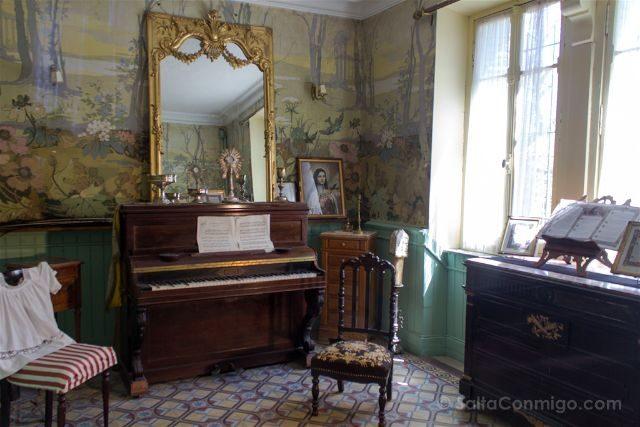 Francia Rennes-le-Château Berenger Sauniere Habitacion