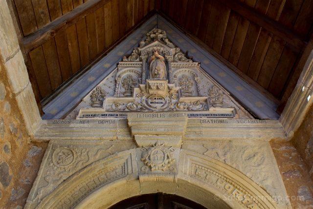 Francia Rennes-le-Château Berenger Sauniere Iglesia Inscripcion